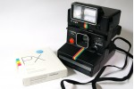 黑彩虹 Rainbow 機連 Q-light 閃光燈 及 PX70 PUSH! (ONE-0015)